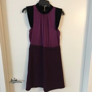 Jill Stuart A Line Plum Dress! Sz 2